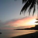 Sunset in Lamai, pre-fast bliss!
