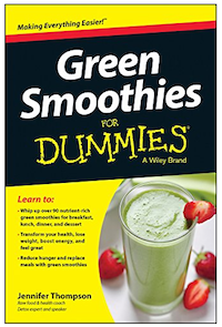 "Literally, I ""wrote the book"" on Green Smoothies!"