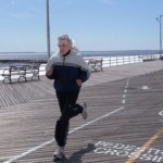 Fred, I hope to be running like that when I'm 80!