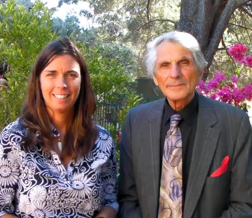 Jennifer with Fred Bisci in Perth, Australia