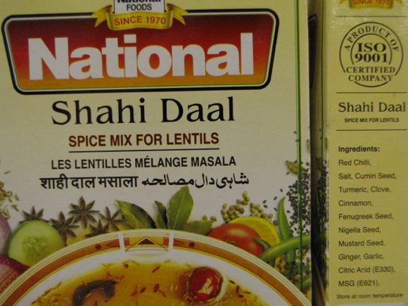 A bit of MSG with your Daal?
