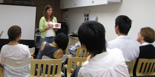 Teaching the Science of Iridology in Hong Kong China