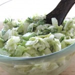 Raw Coleslaw Salad