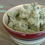 Add Spicy Pumpkin Seed Cheese to a Yummy Raw Organic Salad
