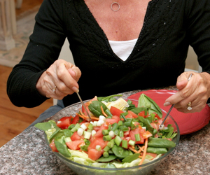 Eating out on a raw food diet