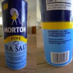 A food additive to AVOID: Yellow Prussiate of Soda