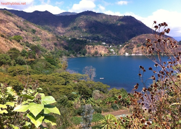 Beauty and nature at Lake Atitlan