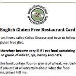 Gluten-Free Card
