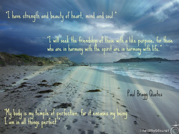 motivational health quotes from paul bragg raw food