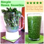 Green Smoothies are still a staple in my daily raw food diet!