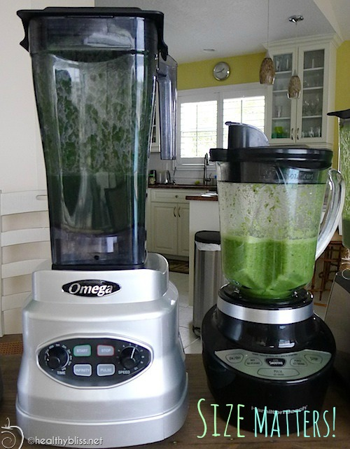 Think about where you have room in your kitchen for your blender before you buy!
