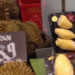 Durian fruit is prickly and hard outside but soft and sweet inside, like many people!