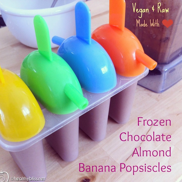 The perfect frozen summer treat, and it's healthy!