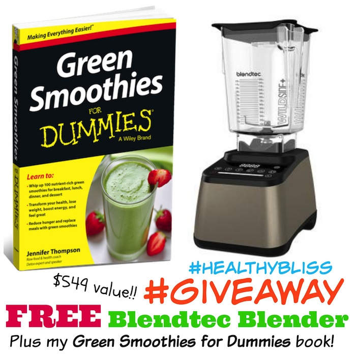 Your chance to WIN a FREE Blendtec Designer 675 blender!