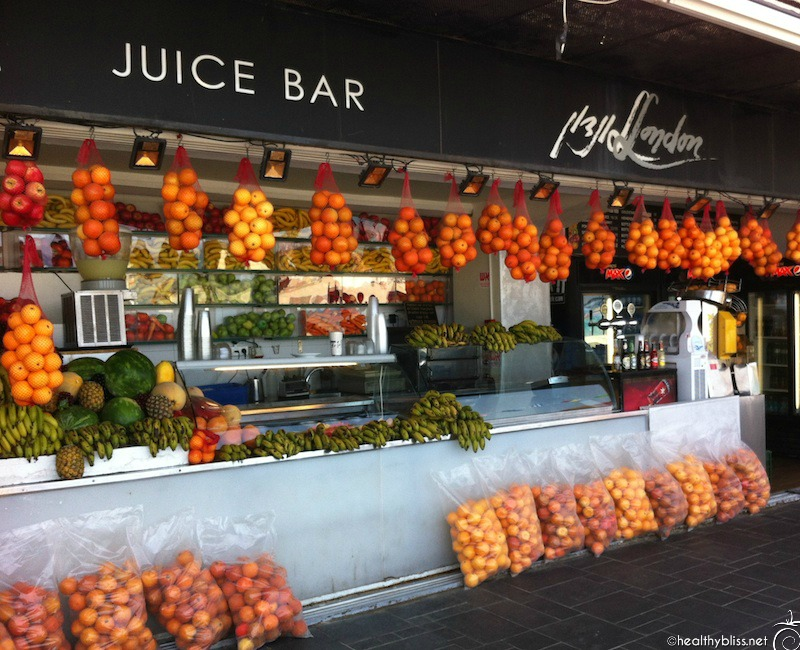 A fresh juice is a welcomed hit of energy & nutrients for your body
