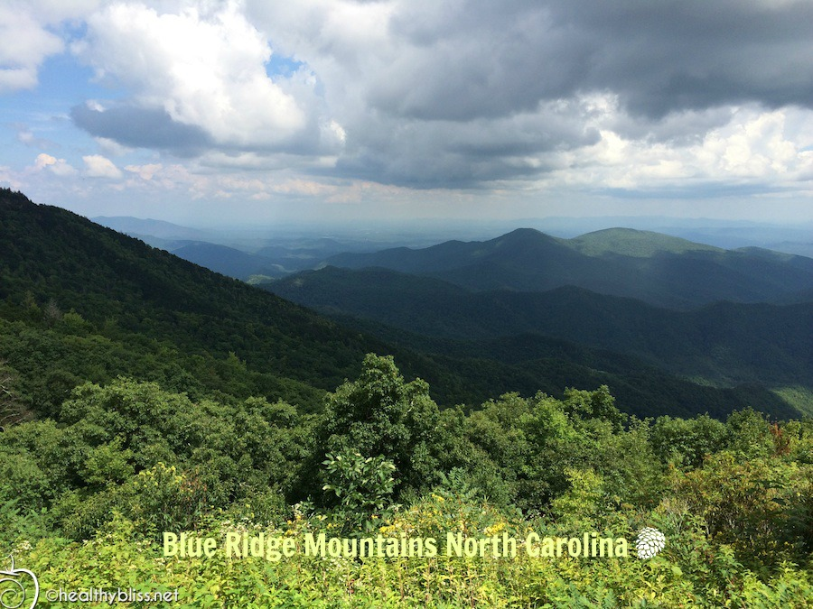 Secret pocket of natural beauty - Blue Ridge Mountains in Western North Carolina