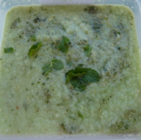 Fresh Cucumber Soup Great for Cooling..