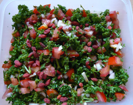 Fast, Easy & Delicious TABOULEH!
