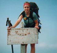 Hiking the 2167-mile Appalachian Trail….yep, that's a challenge!