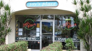 Joy's place in Kihei, Maui - great spot for a health feed!