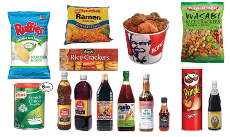 Foods to Avoid, All Containing Artificial Flavoring