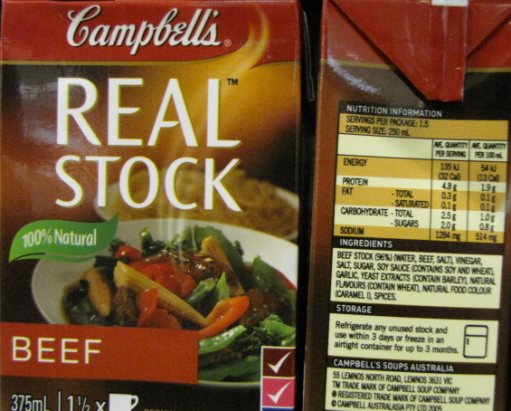 100% Natural, Real Stock??