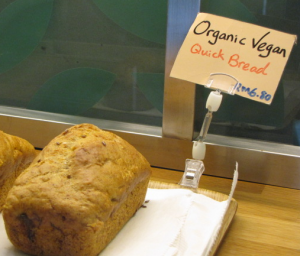Vegan Bread at Woods Bio Marche