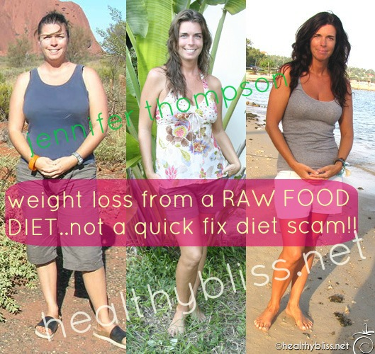 Before and after pictures raw food diet detox reboot - Garden of life raw meal weight loss results ...