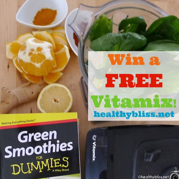 Free Vitamix Giveaway - Winner Announced on 15 December 2014