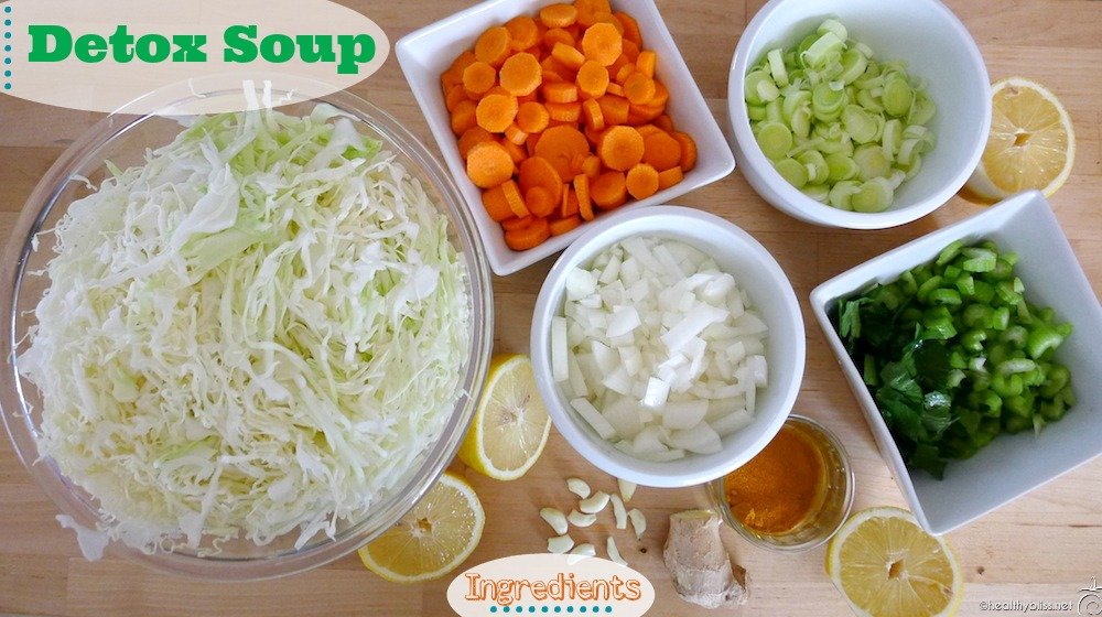 Detox Soup Ingredients