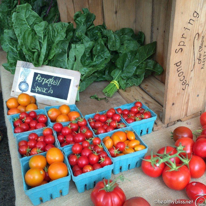 We've got gorgeous fresh local organic fruit and veggies galore in Asheville