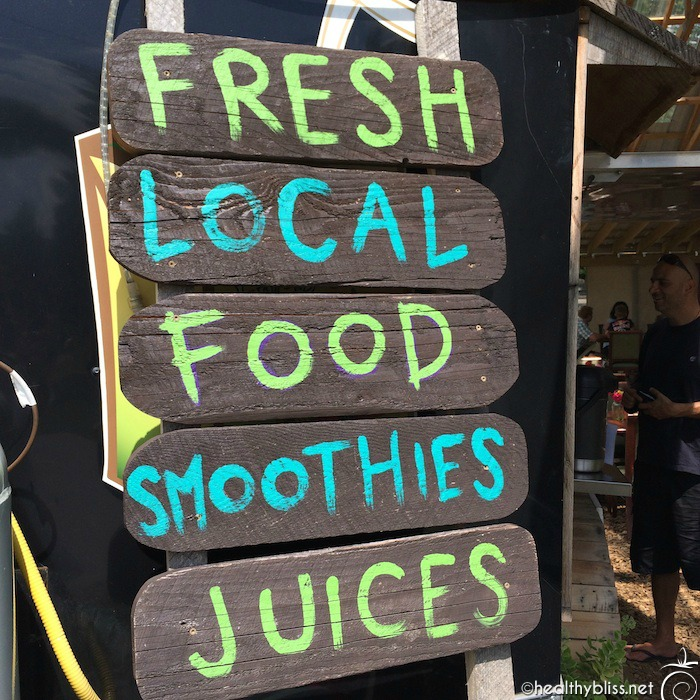 Fresh local (and organic) food - that's my kind of place!