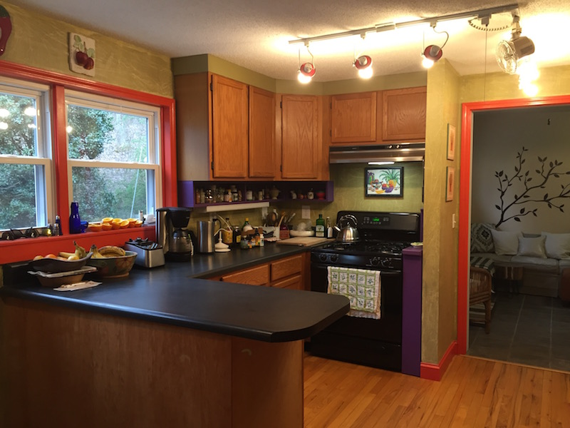 Farmhouse Kitchen Makeover BEFORE